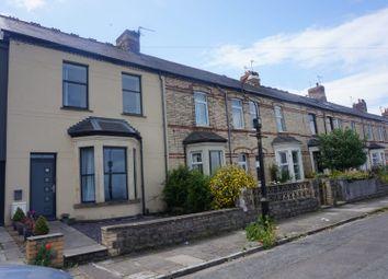 Thumbnail 4 bed terraced house for sale in Pembroke Terrace, Penarth