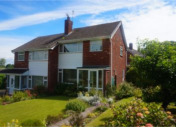Thumbnail 3 bed semi-detached house for sale in Coneybury View, Broseley