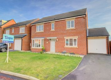 Thumbnail 4 bed detached house for sale in Ridge End Drive, Seaton Delaval, Whitley Bay