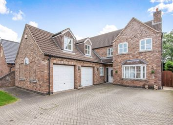 Thumbnail 5 bed detached house for sale in Somerby Drive, Owston Ferry, Doncaster