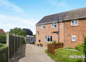 Thumbnail 2 bedroom terraced house for sale in Granville Close, Stalham, Norwich