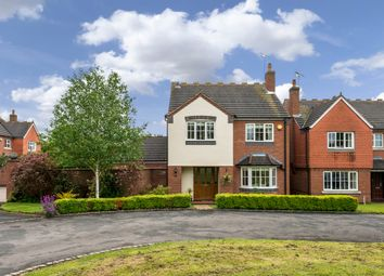 Thumbnail 4 bed detached house for sale in Church Close, Dunston, Stafford