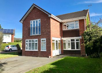Thumbnail 4 bed detached house for sale in Monks Way, Hartford, Northwich