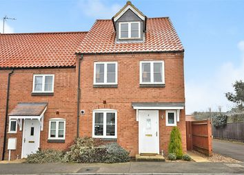 Thumbnail 3 bed end terrace house for sale in Mawsley Chase, Mawsley Village, Kettering, Northamptonshire