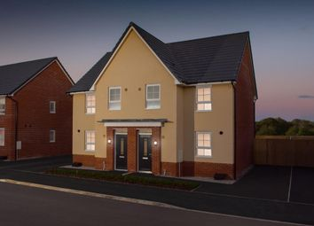 "Thumbnail 4 bed semi-detached house for sale in ""Oakham"" at Winnington Avenue, Northwich"