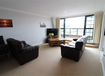 Thumbnail 2 bed flat to rent in The Moorings, Exmouth, Devon.
