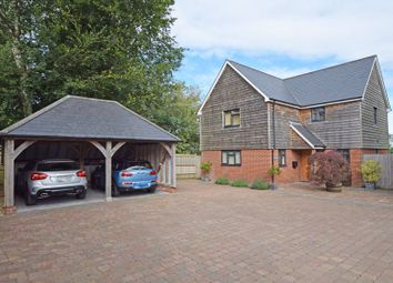 Thumbnail 3 bed detached house for sale in Superb Views From Trinity Hill, Medstead, Alton, Hampshire
