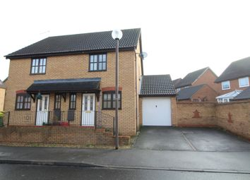 Thumbnail 2 bedroom semi-detached house to rent in Crosslow Bank, Emerson Valley, Milton Keynes