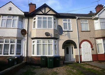 Thumbnail 3 bedroom terraced house to rent in Longfellow Road, Coventry