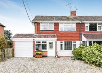 Thumbnail 3 bed semi-detached house for sale in Heath Road, Southend, Reading, West Berkshire