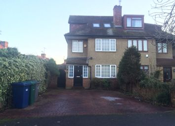 Thumbnail 3 bedroom terraced house to rent in St. Wilfrids Road, Barnet