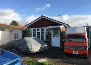 Thumbnail 1 bed bungalow for sale in Dovercliff Road, Canvey Island