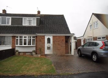 Thumbnail 3 bed semi-detached house to rent in Trent Crescent, Melksham