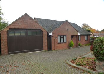 Thumbnail 3 bed detached bungalow for sale in The Green, Royston