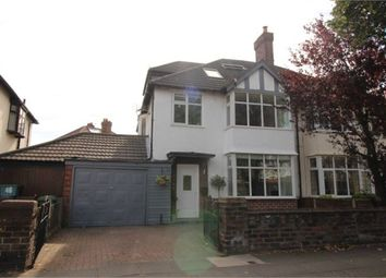 Thumbnail 5 bed semi-detached house for sale in The Northern Road, Crosby, Liverpool, Merseyside