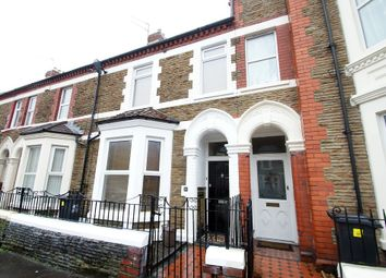 Thumbnail 4 bed end terrace house to rent in Diana Street, Roath, Cardiff