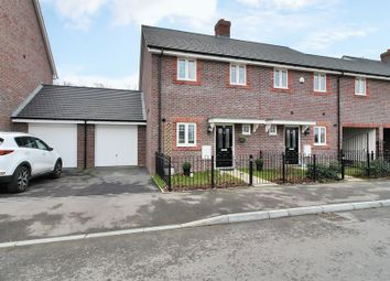 Thumbnail 3 bed end terrace house for sale in Somerley Drive, Forge Wood, Crawley, West Sussex