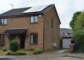 Thumbnail 2 bedroom semi-detached house for sale in Tiptoe Close, Cherry Lodge, Northampton