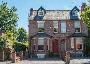 Thumbnail 4 bed terraced house for sale in Hale Road, Hale, Altrincham