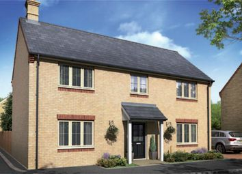 Thumbnail 4 bed detached house for sale in Woburn Drive, Thorney, Peterborough