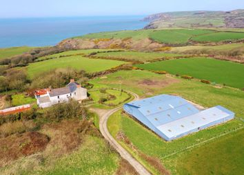 Thumbnail 6 bed detached house for sale in Moylegrove, Cardigan