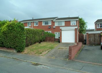 Thumbnail 3 bed end terrace house for sale in Bodnant Grove, Connah's Quay, Deeside
