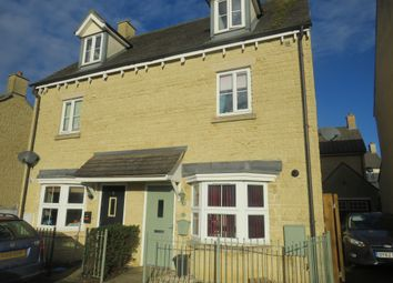 Thumbnail 3 bed semi-detached house for sale in Stocks Green, Carterton