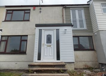 Thumbnail 3 bed terraced house to rent in Llawnroc Close, Camborne, Cornwall