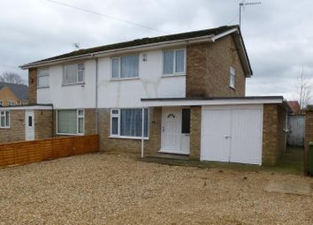 Thumbnail 3 bed semi-detached house for sale in Lerowe Road, Wisbech, Cambridgeshire