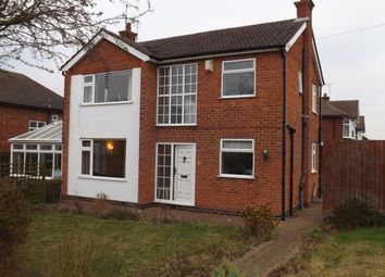 Thumbnail 3 bed detached house for sale in Stanhome Drive, West Bridgford, Nottingham