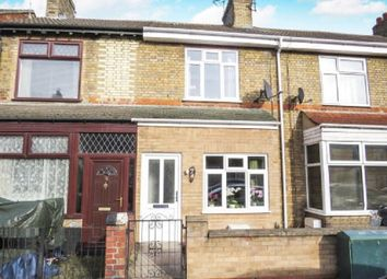 3 bed terraced house for sale in Belsize Avenue, Peterborough, Cambridgeshire. PE2