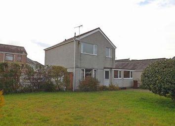 Thumbnail 3 bed detached house for sale in Maes Gerddi, Porthmadog, Gwynedd, .