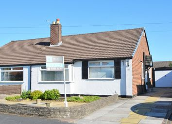 Thumbnail 2 bed semi-detached bungalow for sale in Alderley Road, Thelwall, Warrington