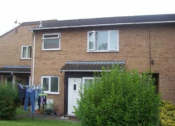 Thumbnail 1 bed end terrace house to rent in Chepstow Walk, Bobblestock, Hereford