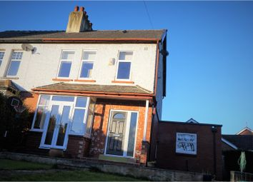 Thumbnail 4 bed semi-detached house for sale in The Avenue, Leeds