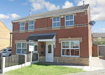 Thumbnail 3 bed semi-detached house for sale in Harriers Court, South Elmsall, Pontefract
