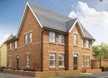 "Thumbnail 3 bedroom end terrace house for sale in ""Morpeth 2"" at Station Road, Longstanton, Cambridge"