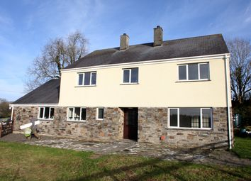 Thumbnail 5 bed detached house to rent in Dunterton, Tavistock