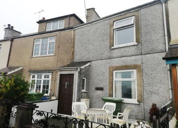 Thumbnail 2 bed terraced house to rent in Beach Road, Y Felinheli