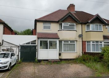 Thumbnail 3 bed semi-detached house for sale in Callowbrook Lane, Rednal, Birmingham
