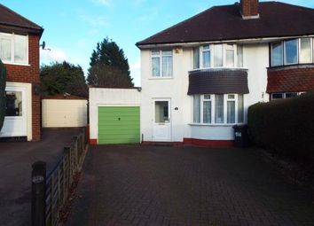 Thumbnail 3 bed semi-detached house for sale in Endhill Road, Birmingham, West Midlands