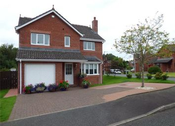 Thumbnail 4 bed detached house for sale in Woodgrove Avenue, Dumfries, Dumfries And Galloway