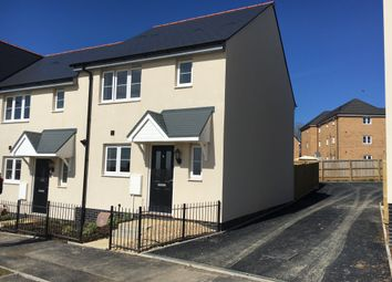 Thumbnail 3 bedroom end terrace house for sale in Wigeon Road, Bude, Cornwall