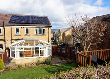 Thumbnail 3 bed semi-detached house for sale in Highfell Rise, Keighley