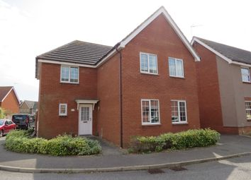 Thumbnail 4 bed detached house for sale in Gratton Dale, Carlton Colville, Lowestoft