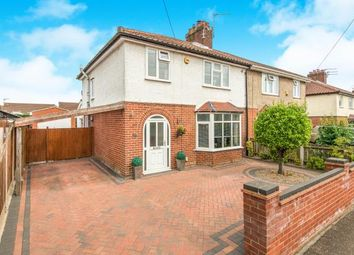Thumbnail 3 bedroom semi-detached house for sale in Hellesdon, Norwich, Norfolk
