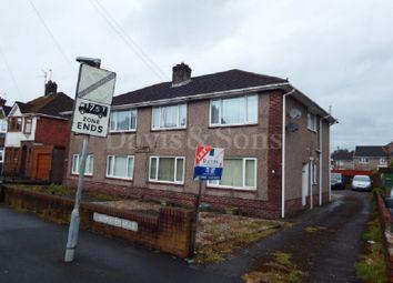 Thumbnail 2 bedroom flat to rent in Somerton Road, Newport, Newport.