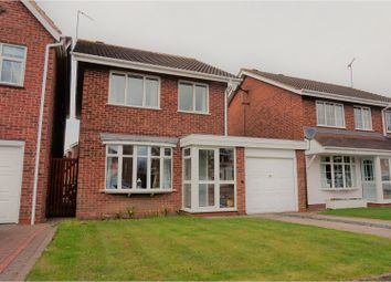 Thumbnail 3 bed detached house for sale in Hepworth Close, Wolverhampton