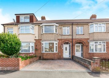 Thumbnail 3 bed terraced house for sale in Worthing Avenue, Elson, Gosport