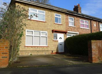 Thumbnail 3 bedroom end terrace house to rent in Regent Road, Middlesbrough
